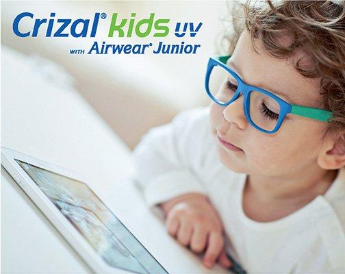 Crizal kids glasses