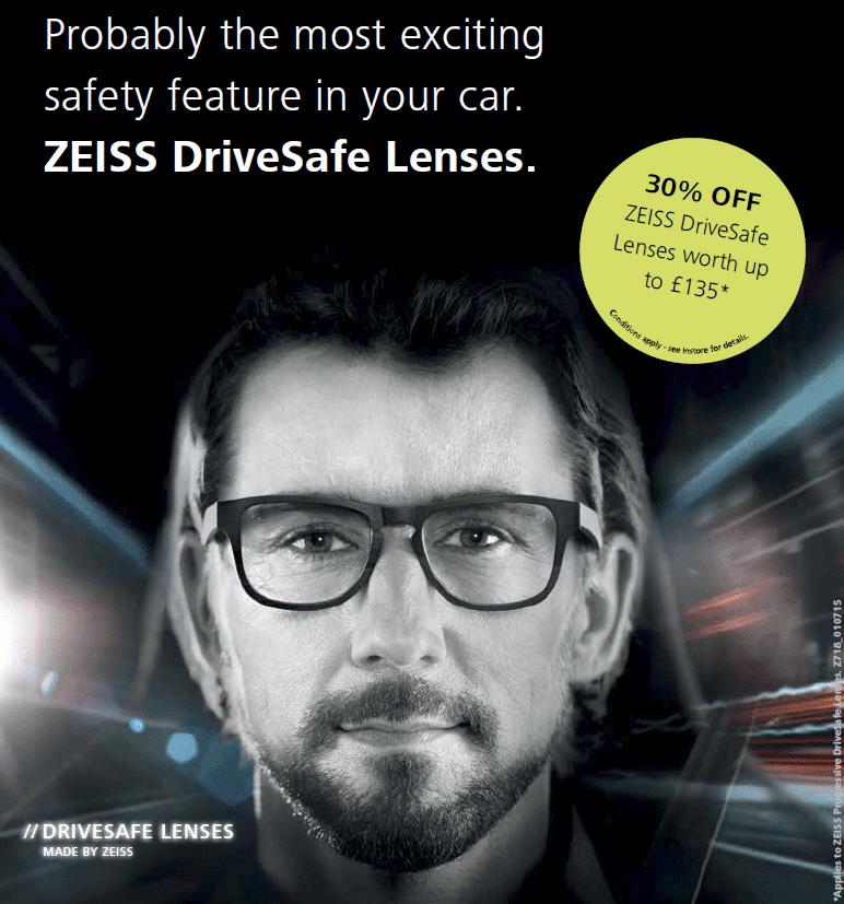 Zeiss DriveSafe lenses offer 2016
