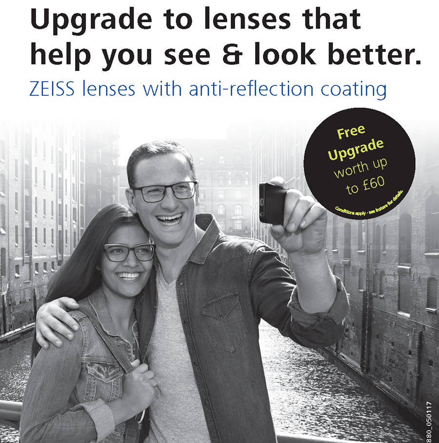 Zeiss lenses - free upgrade