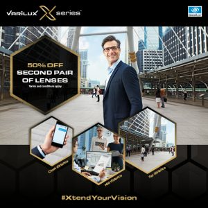 Varilux Series X lenses