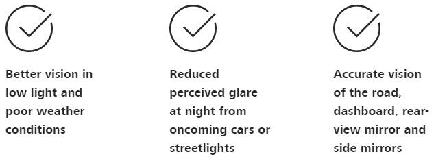 ZEISS DriveSafe benefits